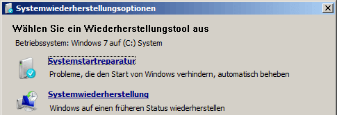 Windows-7-wiederherstellen-Systemwiederherstellungsoptionen
