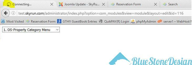 Joomla Modules Error after updating