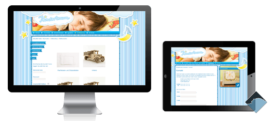 Webdesign Kindertraum