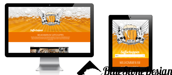 Webdesign Suffschuppen Wordpress Theme