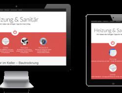 Webdesign Heizung & Sanitär